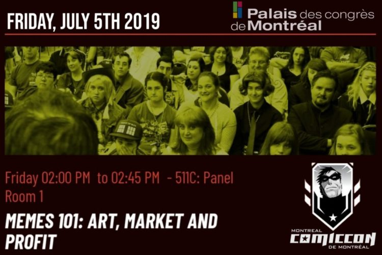 Check out Danny's LIVE panel at Montreal Comiccon 2019.